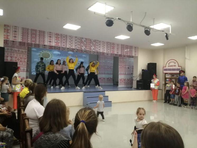 В Международный день защиты детей большой детский праздник состоялся в Центре дружбы народов