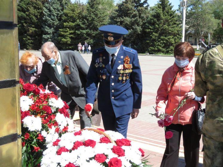 В преддверии Дня Победы в Волгодонске прошел митинг «Живая память поколений»