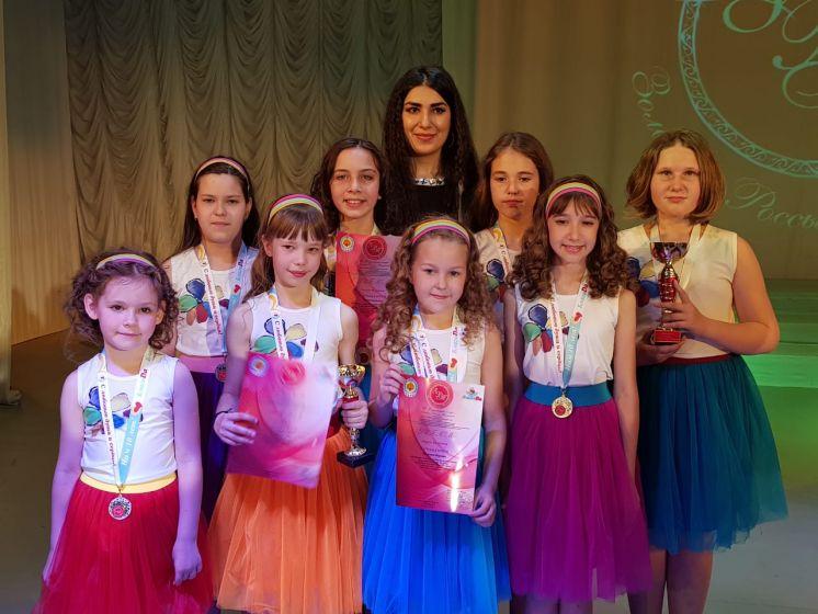 В ДК «Октябрь» состоялся международный конкурс «Золотые россыпи талантов»