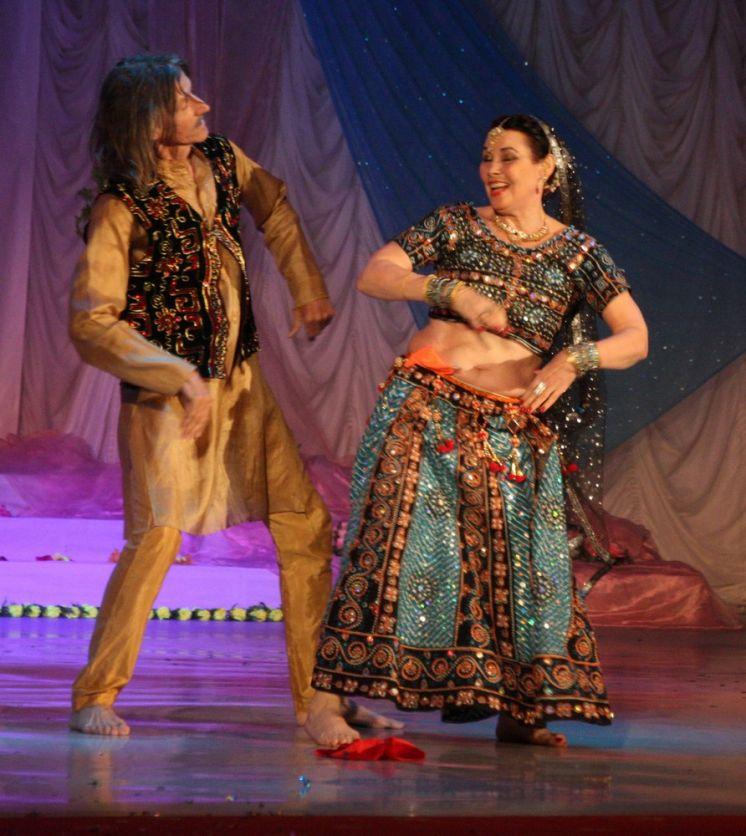 В ДК «Октябрь» прошел вечер индийских и восточных танцев