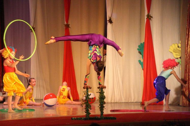 Цирковая студия «Арена» порадовала волгодонцев великолепным представлением