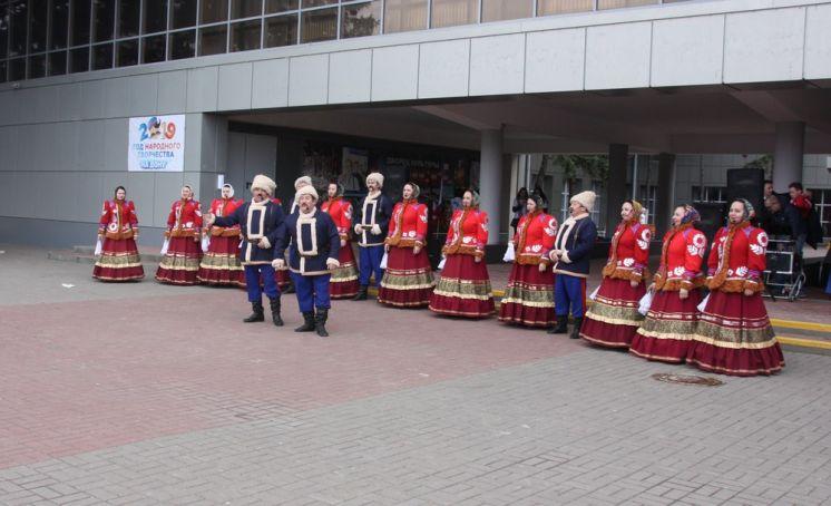 В Волгодонске отметили годовщину воссоединения Крыма с Россией